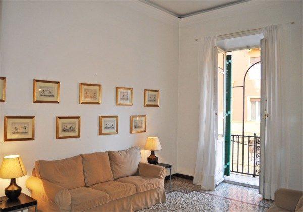 Ferienwohnung Rom - Ref 3062-4 - Wohnbereich