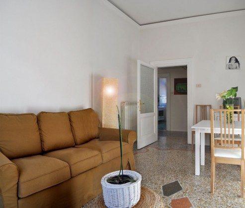 Wohnzimmer - Ferienwohnung Rom am Vatikan - Ref 3062-5