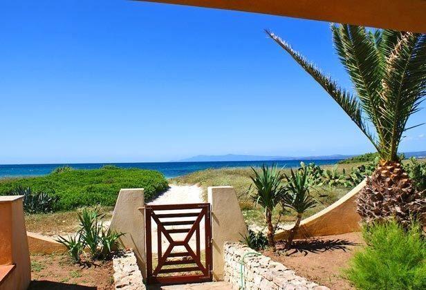 Weg zum Meer Sa Rocca Tunda Ferienwohnung Ref. 2994-13