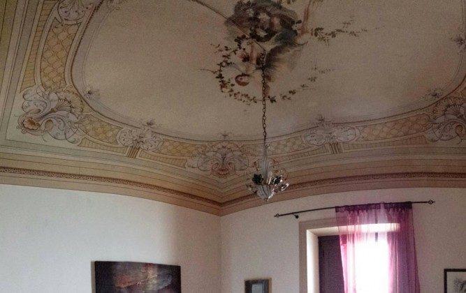 Whg 2 - Schlafzimmer Doppelbett Decke Alla Giudecca Ref. 166798-2