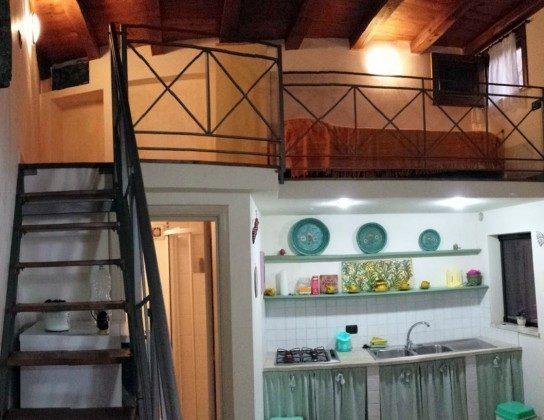 Whg 2 - Küche und Zwischengeschoss Alla Giudecca Ref. 166798-2