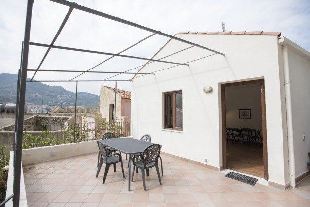Terrasse 2 Esstisch - Cefalu Ferienwohnung Soto la Rocca Ref. 166798-3