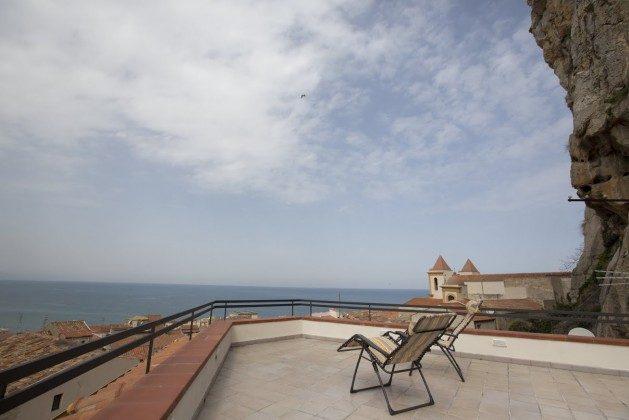 Terrasse 3 Ausblick - Cefalu Ferienwohnung Soto la Rocca Ref. 166798-3