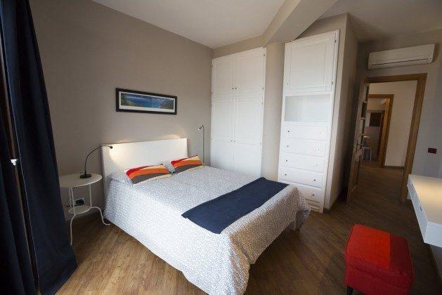 Schlafzimmer Doppelbett 1 - Cefalu Ferienwohnung Soto la Rocca Ref. 166798-3