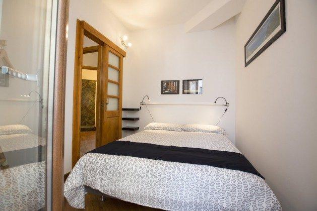 Schlafzimmer Doppelbett 2 - Cefalu Ferienwohnung Soto la Rocca Ref. 166798-3