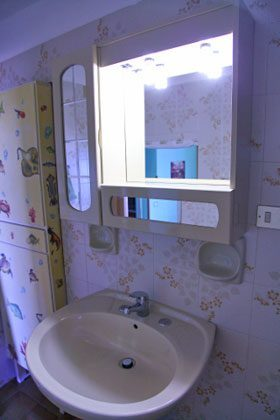 badezimmer Apartment Balcone Bellavista B Sizilien Cefalu Ref. 22397-51