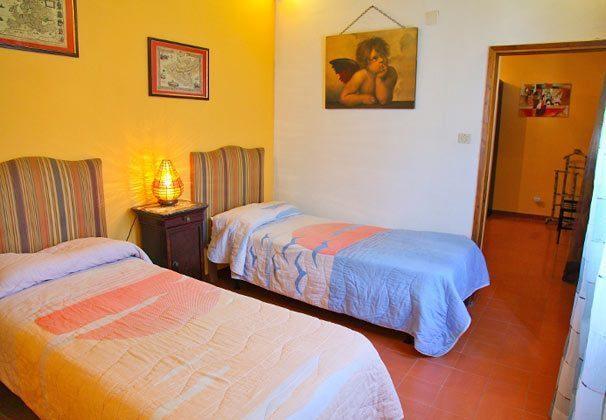 Schlafzimmer Apartment Balcone Bellavista B Sizilien Cefalu Ref. 22397-51