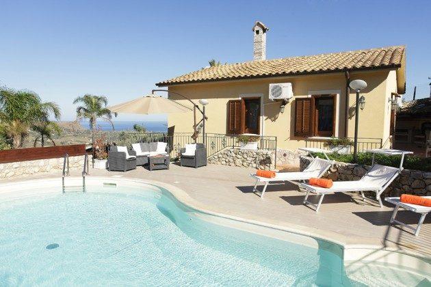 Ferienhaus Sizilien mit Kamin