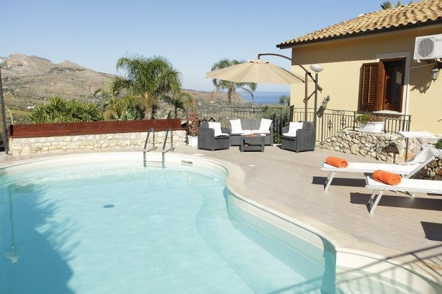Pool mit Aussicht Scopello Ferienhaus Ref. 152254-10