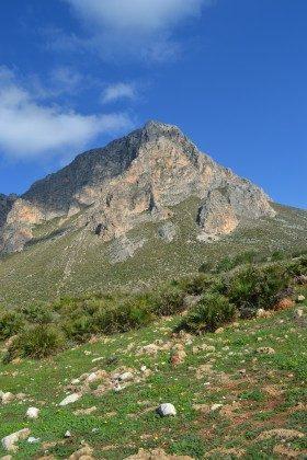 Berge Umland Trapani Cornino Ferienvilla 152254-1