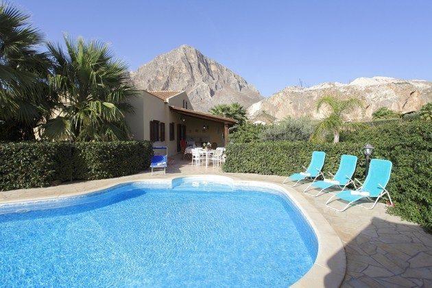 Pool Trapani Cornino Ferienvilla 152254-1