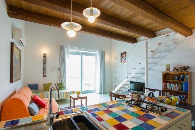 Wohnbereich Beispiel Marina di Ragusa Ferienwohnung Ref: 174333-4