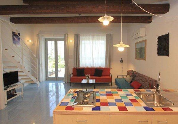 Wohnbereich Marina di Ragusa Ferienwohnung Ref: 174333-4