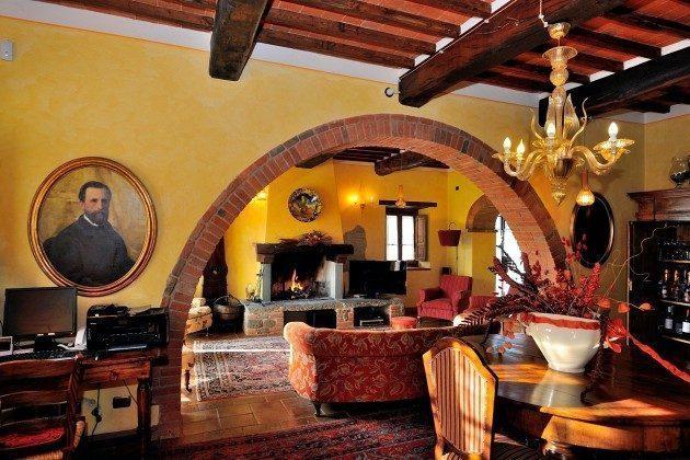 Wohnbereich Toskana Arezzo Luxus- Ferienhaus Ref. 162283-2