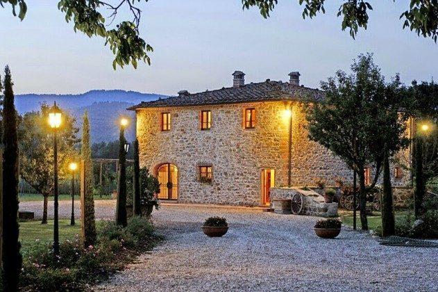 Bei Nacht Toskana Arezzo Luxus- Ferienhaus Ref. 162283-2