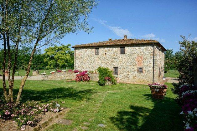 Aussenansicht Toskana Arezzo Luxus- Ferienhaus Ref. 162283-2