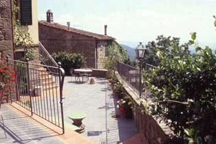 Ferienwohnung Celli Terrasse