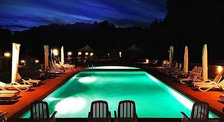 Poolbeleuchtung Italien Toscana Ferienwohnungen Ref. 152443-2