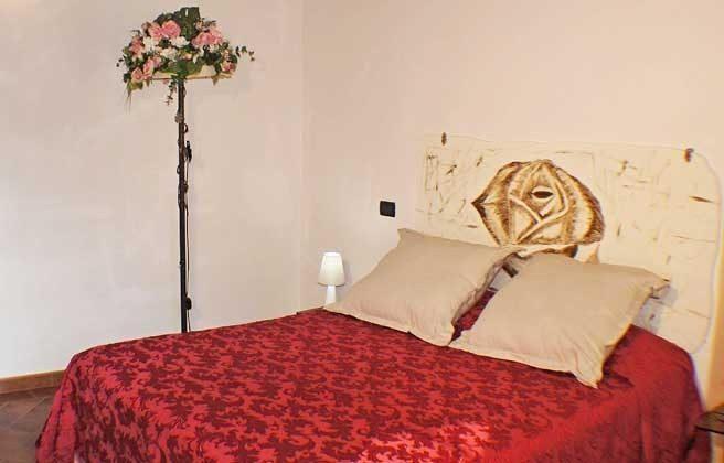 """Schlafzimmer """"Rosa"""" Italien Toscana Ferienwohnungen Ref. 152443-2"""