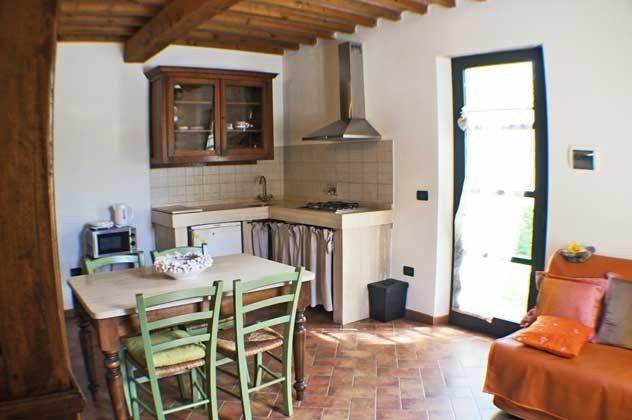 """Essbereich Wohnung """"Calla"""" Italien Toscana Ferienwohnungen Ref. 152443-2"""