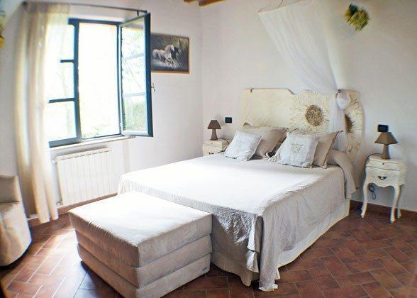 """Schlafzimmer Wohnung """"Margherita"""" Italien Toscana Ferienwohnungen Ref. 152443-2"""