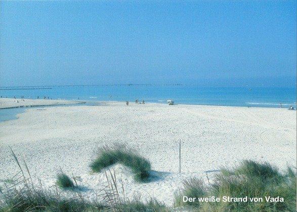 Weisser Strand von Vada
