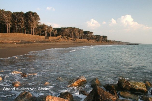 Strand, Cècina Mare