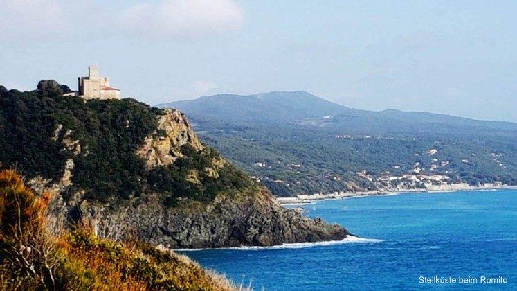 Steilküste beim Romito