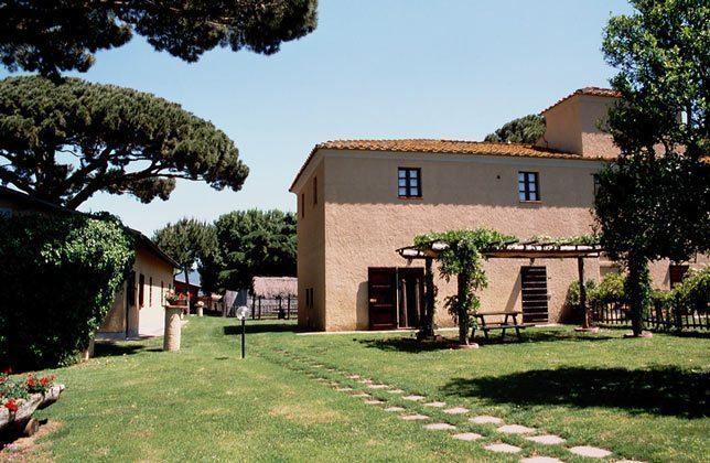 Das Haupthaus mit Il Vignone B3
