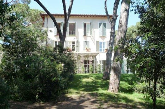 Villa Außenansicht Bolgheri Ferienwohnung Ref. 22649-13