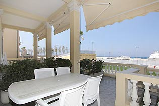 Toskana Villa am Meer - Balkon