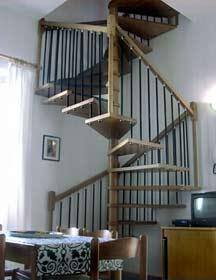 Ferienwohnung Toskana Villa am Meer - Treppe Wohnung 2c
