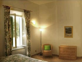 Schlafzimmer Toskana Villa am Meer