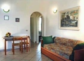 Ferienwohnung Toskana Villa am Meer - Wohnraum