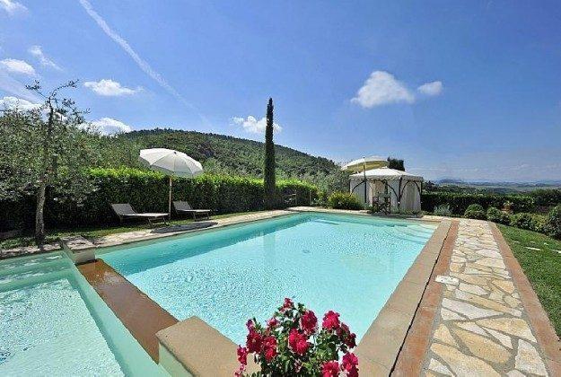 Pool  Montaione Ferienhaus Ref. 162665-4