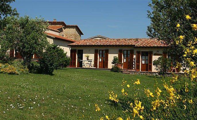 Sicht auf Ciliegiolo und IL Mammolo  Toskana Ferienwohnungen auf Weingut Ref. 1892