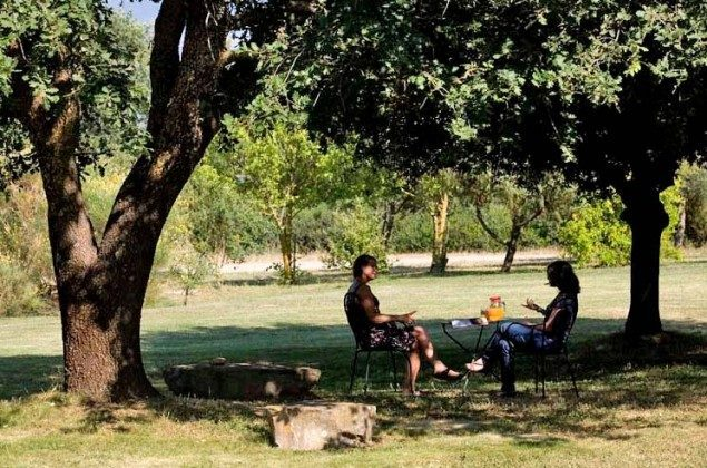 Entspannung im Garten Toskana Ferienwohnungen auf Weingut Ref. 1892