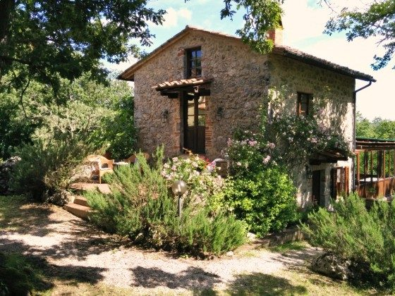 Ferienhaus Toskana mit Sauna
