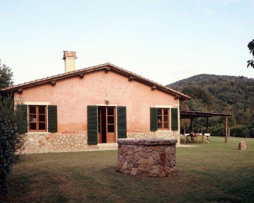Außenansicht - Ferienhaus Toskana Marsiliana Ref. 22649-11