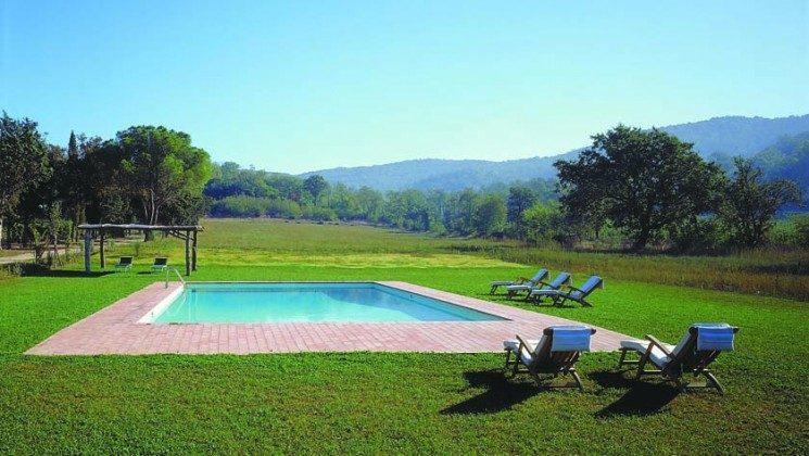Pool - Ferienhaus Toskana Marsiliana Ref. 22649-18