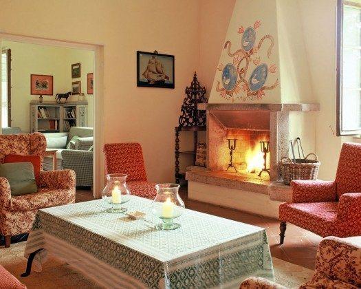 Kamin - Ferienhaus Toskana Marsiliana Ref. 22649-18