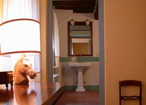 Apartment 2 Pergola: Badezimmer