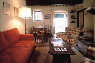 Apartment 1 Geranio: Wohnzimmer