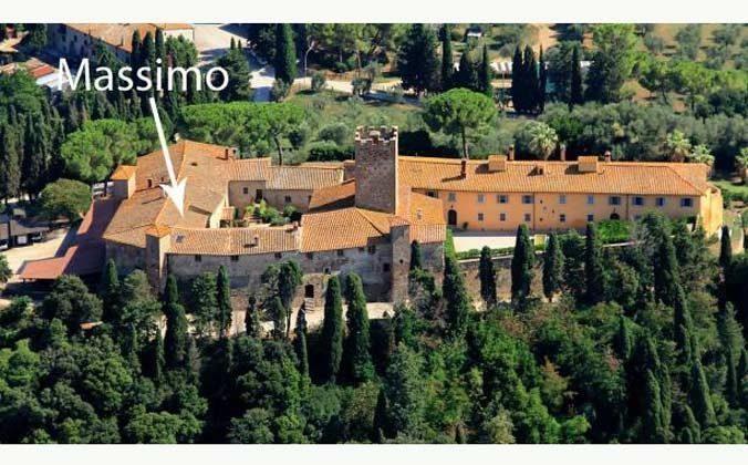 Lage im Schloss Marsiliana Ferienwohnung 22649-8