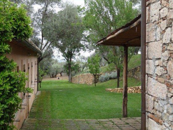 Garten - Toskana Ferienhaus Marsiliana