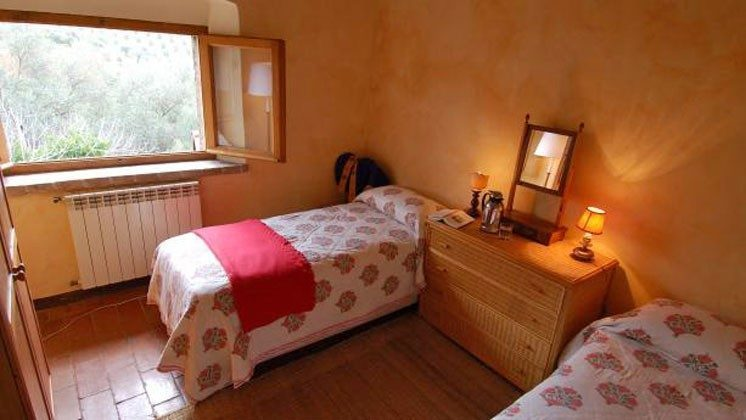 Einzelbettschlafzimmer - Toskana Ferienhaus 22649-9 Marsiliana