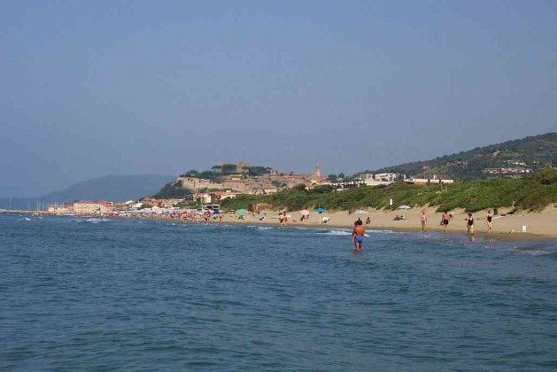 Sandstrände bei Castiglione d. Pescaia