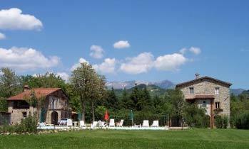 Toskana Ferienhaus Casa Chioi Wohnraum