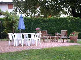 Toskana Ferienhaus Il Loggiato Esszimmer