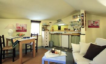 Ferienhaus Toskana Wohnraum